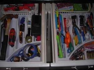 drawer after organizing