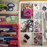 Junk drawer cleaning