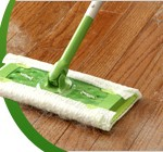 Turn Your Swiffer Sweeper into a Wet Mop With Socks