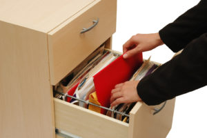 Implementing a filing system at home